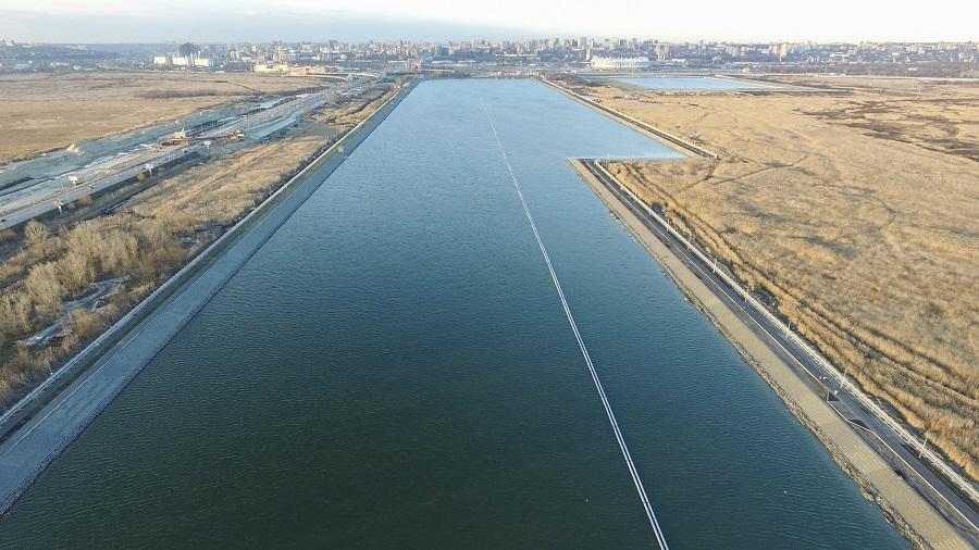 ВРостове завершили реконструкцию гребного канала