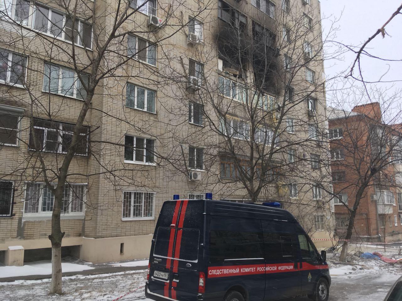 ВРостове-на-Дону при взрыве вжилом доме умер человек