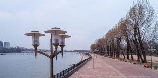 Общий вид парка Левобережный //Фото с сайта администрации Ростова