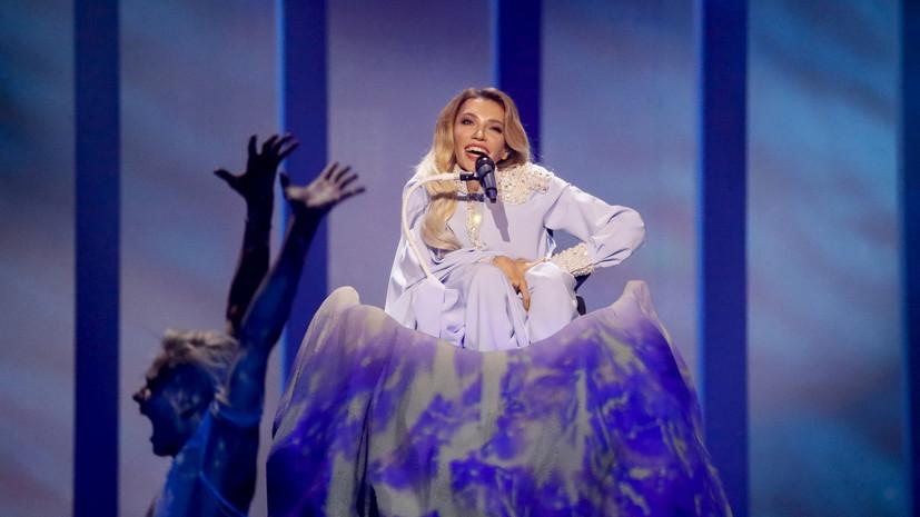 Представительница РФ Юлия Самойлова непрошла вфинал «Евровидения»