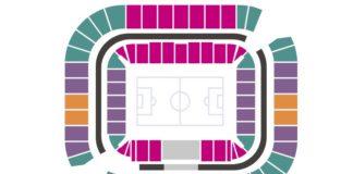 """Категории билетов на трибунах стадиона """"Ростов-Арена"""" //Скриншот с сайта welcome2018.me"""