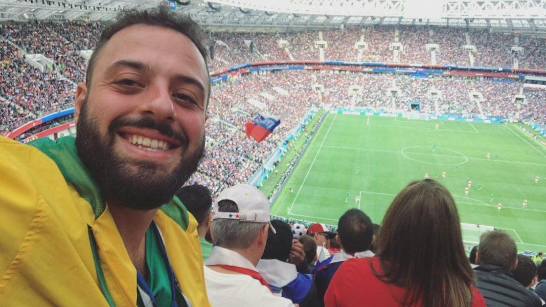 Томер Савойя на стадионе