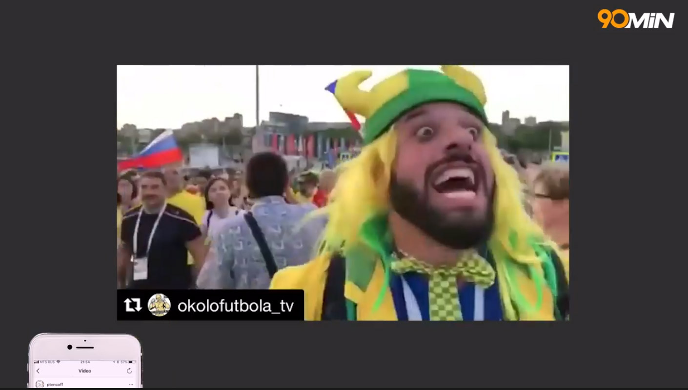 """Бразильский журналсит Томер Савойя /скриншот из фильма """"Diário 90min"""""""