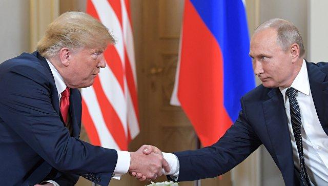 Владимир Путин и Дональд Трамп //Фото: РИА Новости / Сергей Гунеев