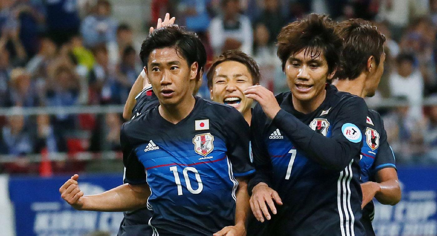 Сборная Японии по футболу //Фото: Р-Спорт