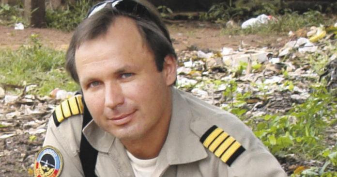 Летчик Константин Ярошенко //Фото с сайта newsnn.ru