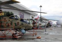 Ударный вертолет Ми-28НЭ «Ночной охотник» на статической экспозиции форума «Армия — 2018» //Фото: Евгений Баранов