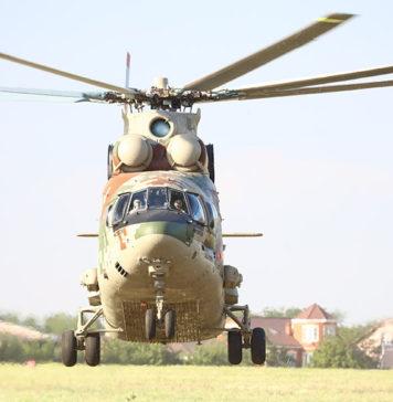 Вертолет Ми-26Т2В на испытаниях //Фото: Евгений Баранов