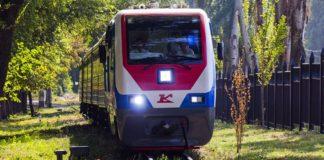 Поезд на ростовской детской железной дороге //Фото из группы ДЖД в соцсети ВКонтакте