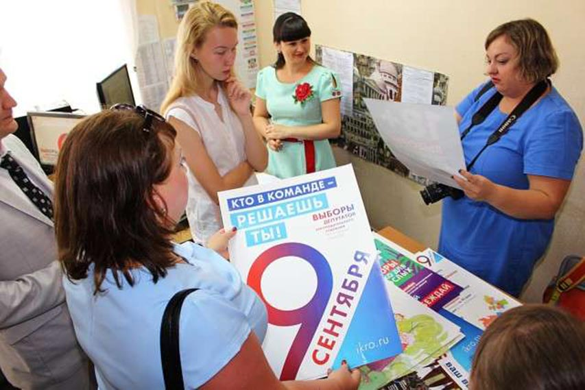 //Фото: пресс-служба Избирательной комиссии Ростовской области