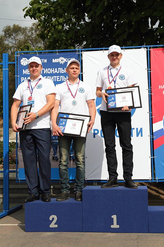 Победители соревнований WorldSkills компании «Россети» //Фото предоставлено пресс-службой «МРСК Юга»