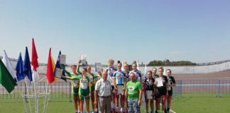 Награждение победителей и призеров первенства России по велоспорту на треке//Фото: сайт Администрации Ростова-на-Дону
