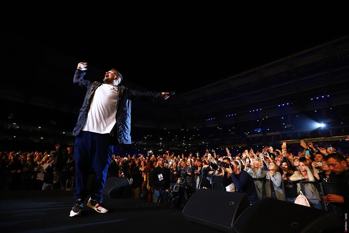 Концерт Басты на «Ростов-Арене» //Фото: Денис Демков
