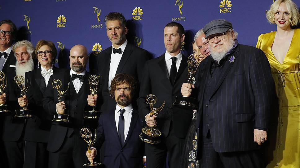 «Игра престолов» получила «Эмми» вкатегории «Лучший драматический сериал»
