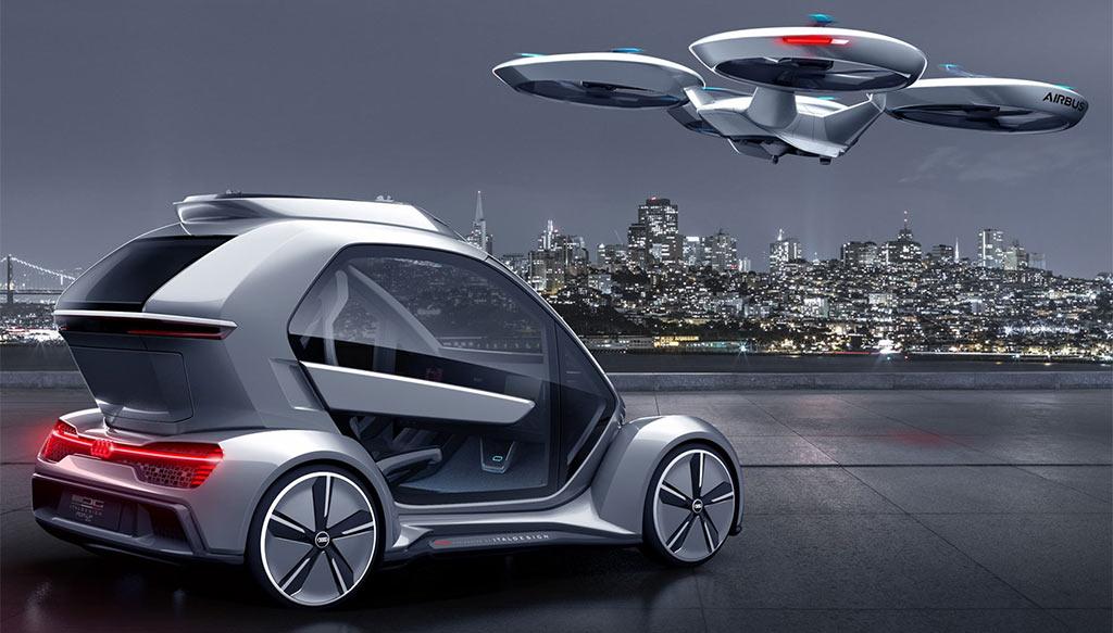 Концепт летающего автомобиля Audi - Airbus //Фото с сайта autotimesnews.com