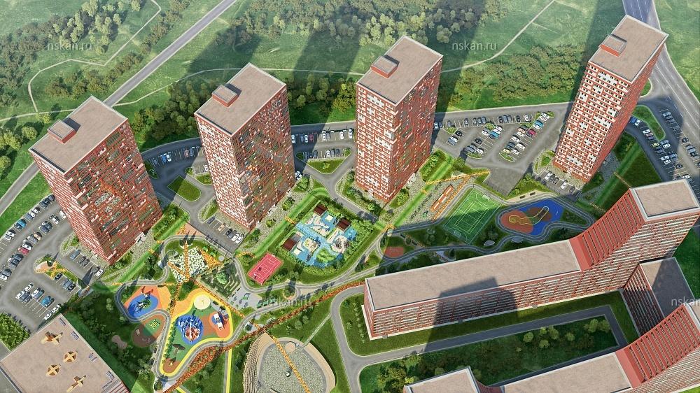 Проект жилого комплекса в Новой Москве //Фото с сайта nsakn.ru