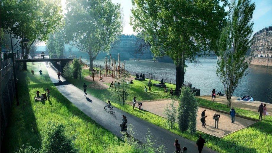 Проект экопарка на берегу реки Темерник в Ростове //Фото с сайта rostovgazeta.ru