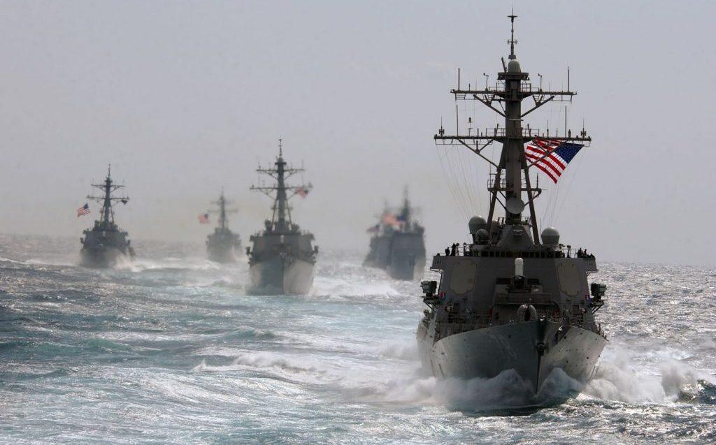 Американские военные корабли //Фото с сайта ghall.com.ua