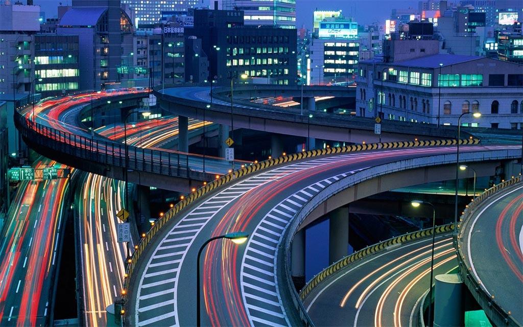 Городской пейзаж Токио //Фото с сайта wallhere.com