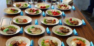 Холодные закуски бизнес-класса из меню бортового питания аэропорта «Платов» //Фото: пресс-служба аэропорта «Платов»