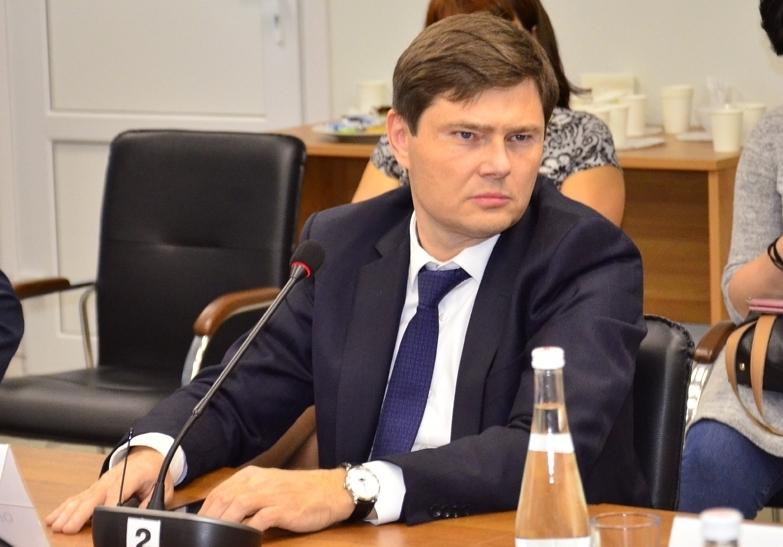 Олег Кулик на пресс-конференция