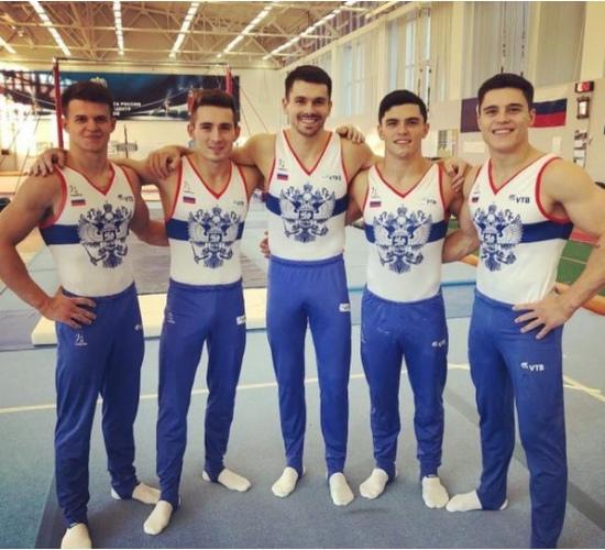 Российские гимнасты//Фото: сайт министерства по физической культуре и спорту Ростовской области