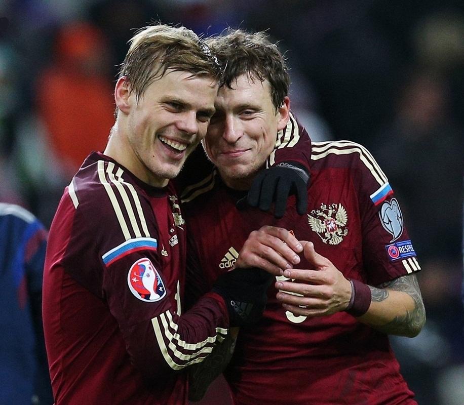 Павел Мамаев и Александр Кокорин//Фото: сайт