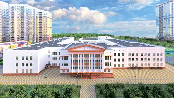 Проект школы на 1100 мест в микрорайоне