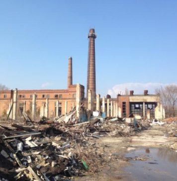Территория бывшего завода «Электроаппарат» //Фото с сайта wikimapia.org