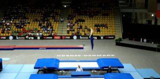 //Фото: кадр YouTube из Чемпионате мира по прыжкам на батуте