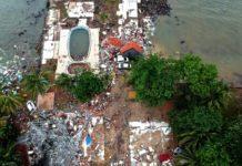 Цунами в Индонезии//Фото: издание «Straits Times»