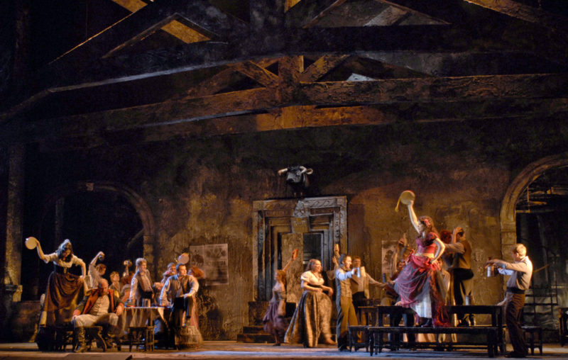 "Опера ""Кармен""//Фото: пресс-служба Музыкального театра"