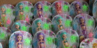 Контрафактные куклы//Фото: пресс-служба Южного таможенного управления