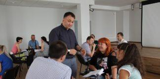 Тренинг для предпринимателей //Фото предоставлено Гарантийный фондом Ростовской области