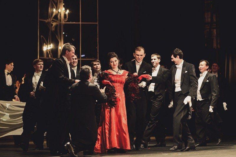 """Опера """"Травиата"""" //Фото: пресс-служба Музыкального театра"""