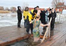 Крещенские купания//Фото: пресс-служба правительства Ростовской области