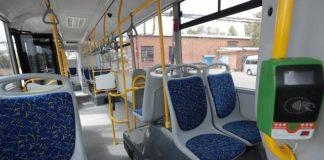 Валидатор в автобусе //Фото: Ростовское агентство новостей