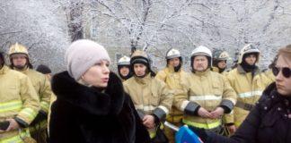 Жительница дома, в котором взорвался газ, Наталья Жукова //Стоп-кадр из эфира телеканала Дон24
