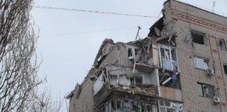 Разрушенные этажи дома в Шахтах //Фото: пресс-служба Правительства Ростовской области