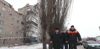 В Шахтах произошел взрыв газа в жилом многоэтажном доме, есть жертвы //Фото: пресс-служба Правительства Роствоской области