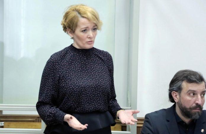 Анастасия Шевченко во время судебного заседания 7 февраля 2019 года //Фото: Анастасия Куньчикова,