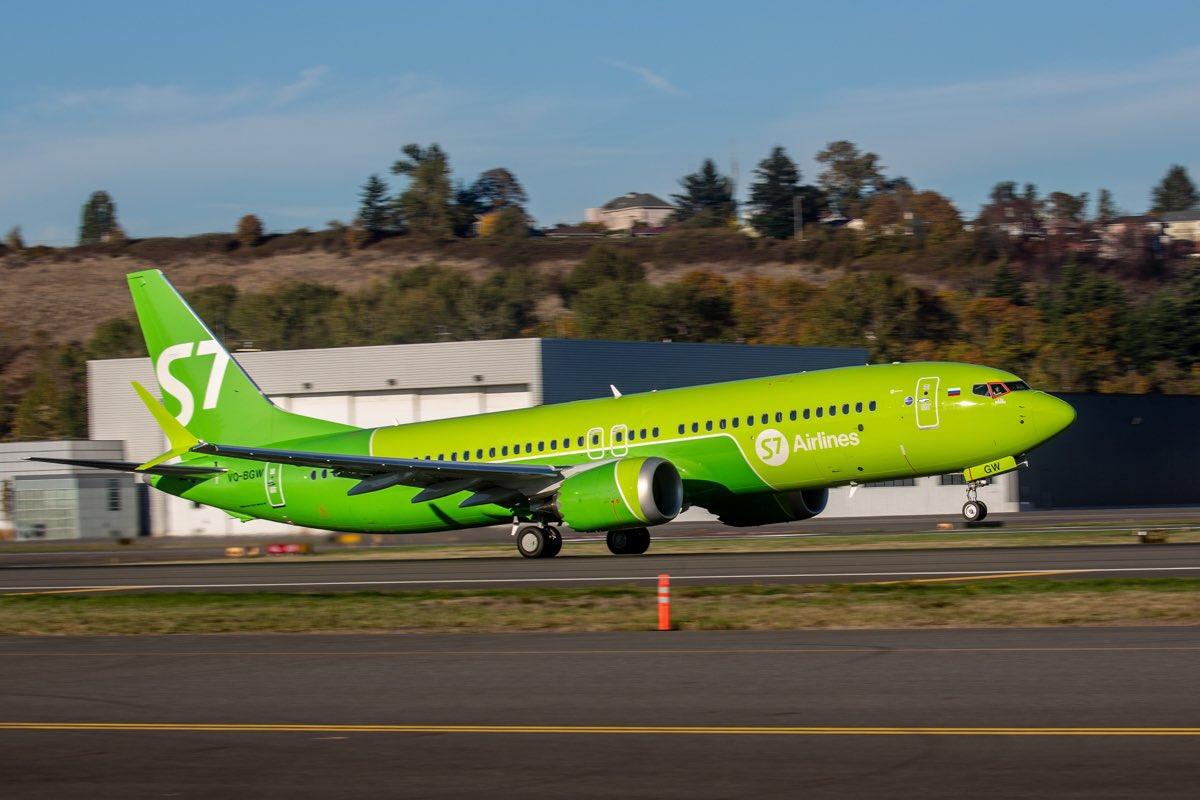 S7 Airlines приостановила полеты Boeing 737 MAX //Фото: Craig Paul