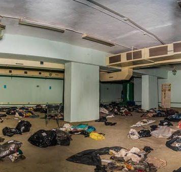 """Вещи погибших при крушении самолета найдены под старым аэропортом//Фото: газета """"Наше время"""""""
