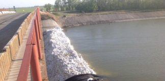 Плотина на Ростовском водохранилище//Фото: Ростовское агентство новостей