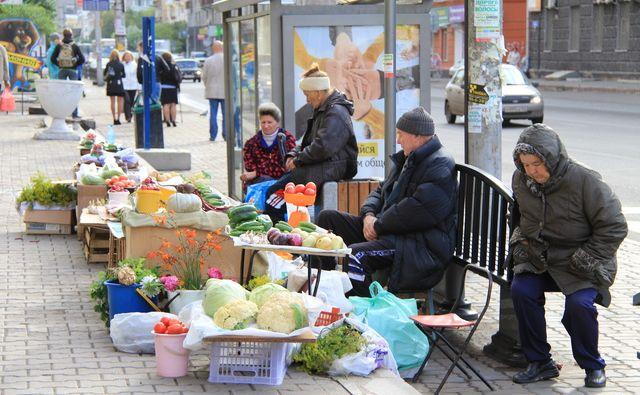 Торговля в неустановленных местах//Фото: Ростовское агентство новостей