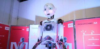 Робот-актер Теспиан //Фото предоставлено пресс-службой проекта «Поколение М»