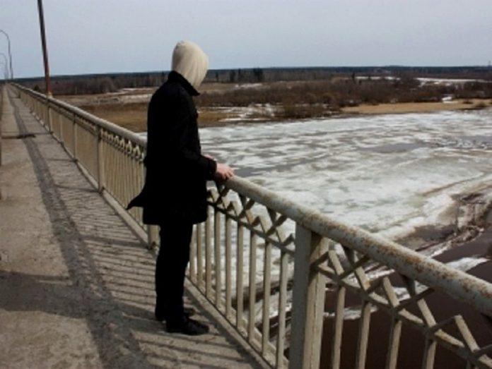 Человек на мосту//Фото: Інформатор