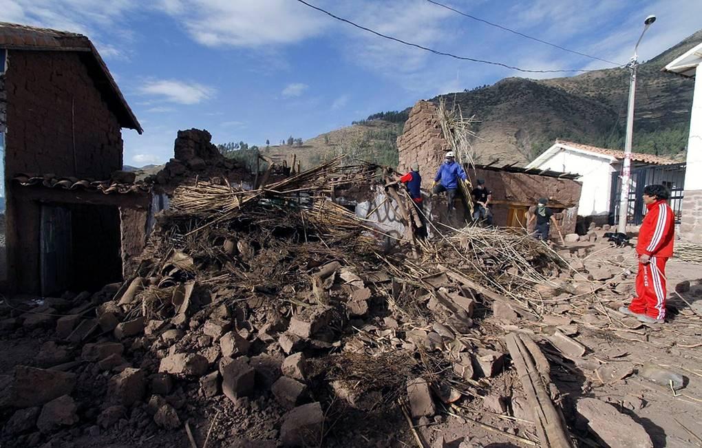 В Перу произошло землетрясение магнитудой 8//ТАСС