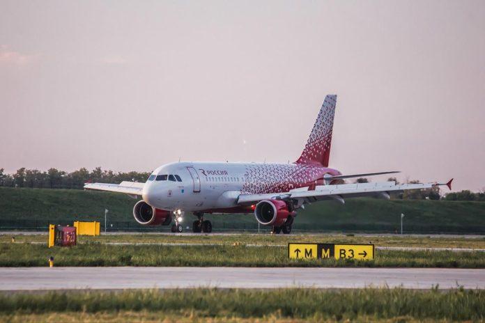 Авиалайнер Airbus A319 автакомпании