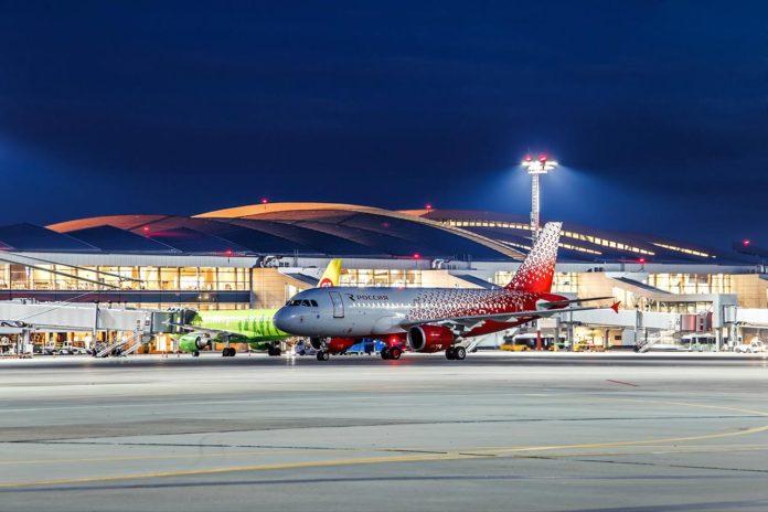 Авиалайнер Airbus A319 авиакомпании